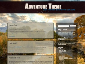 Adventure Plus premium WordPress theme