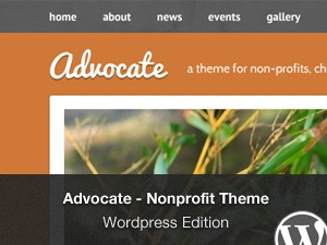 Advocate WP theme
