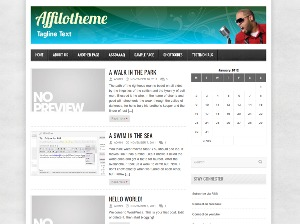 AffiloTheme - Avenue WordPress page template