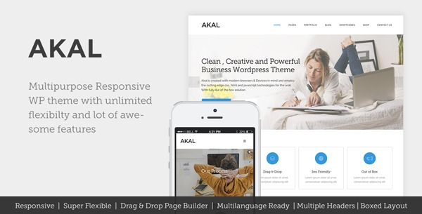 Akal Child WordPress template