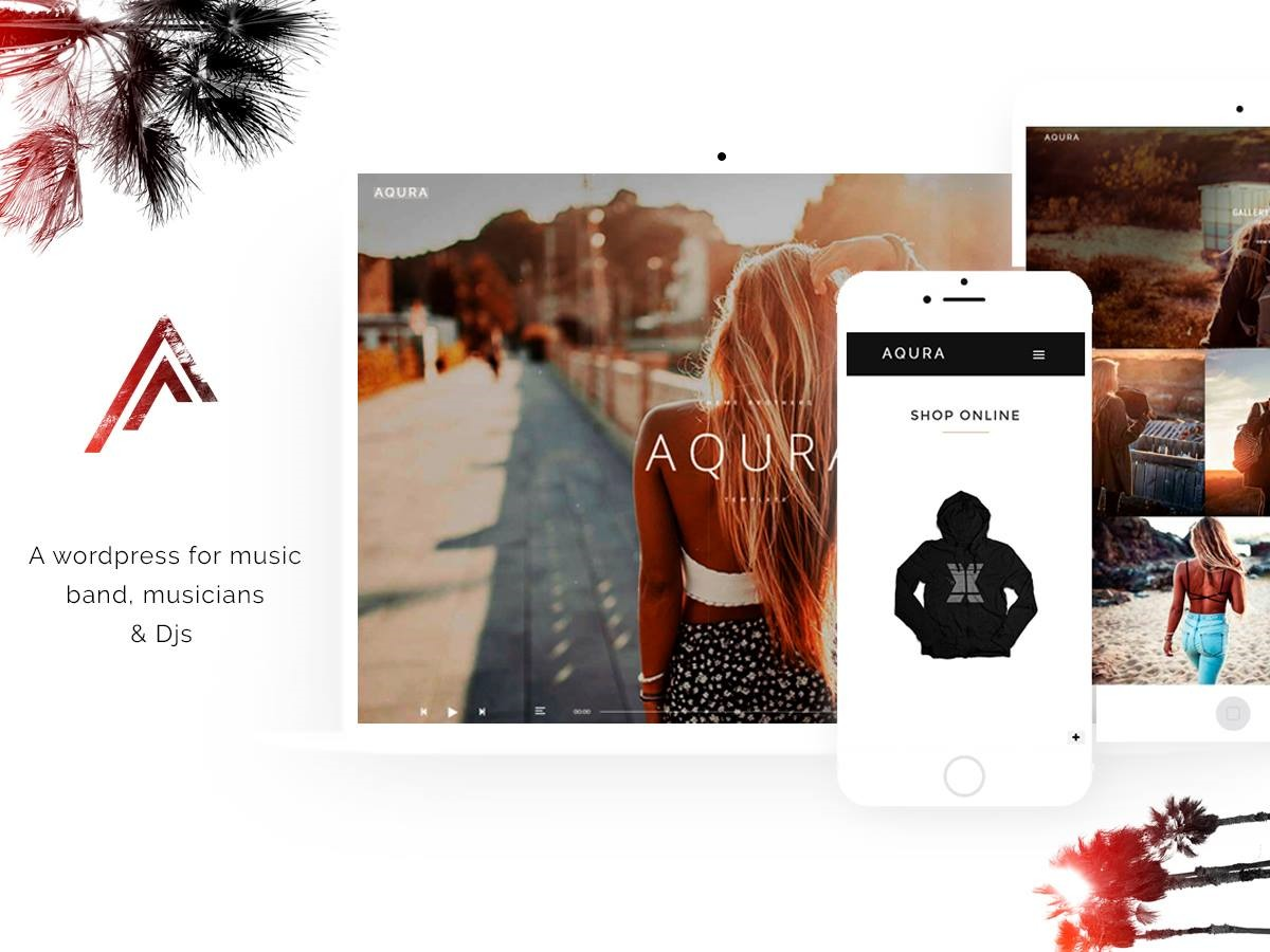 Aqura best WordPress theme