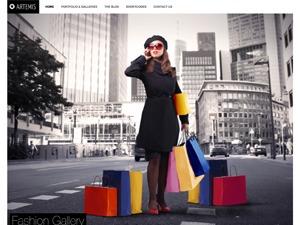 Artemis wallpapers WordPress theme