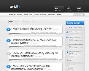 AskIt best WordPress template