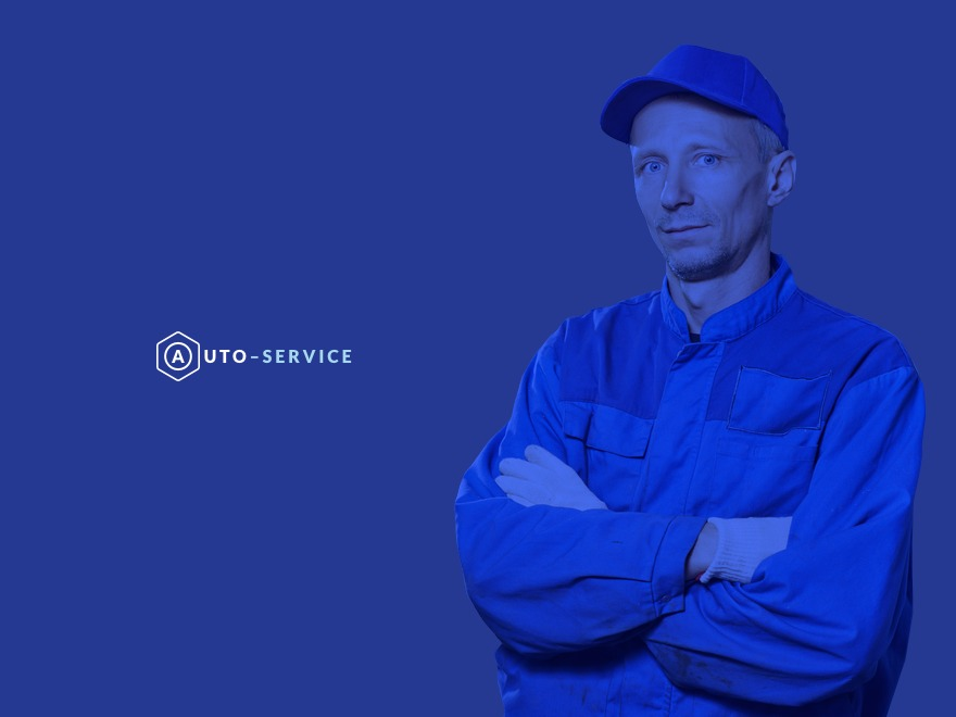 Auto Repair WordPress website template