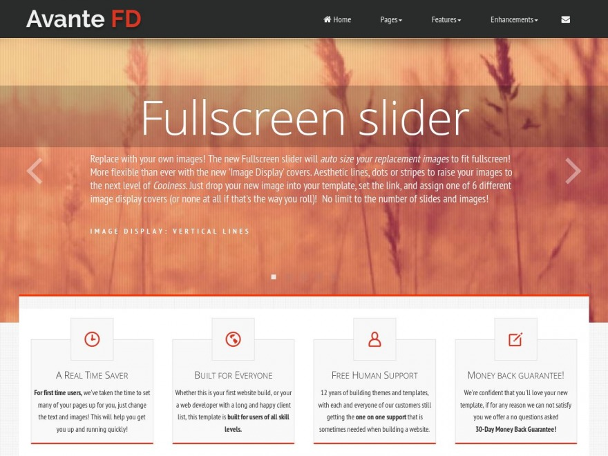 Avante FD WP template