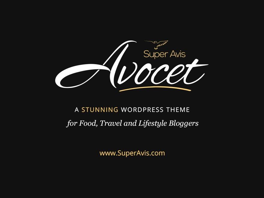 Avocet WordPress travel theme