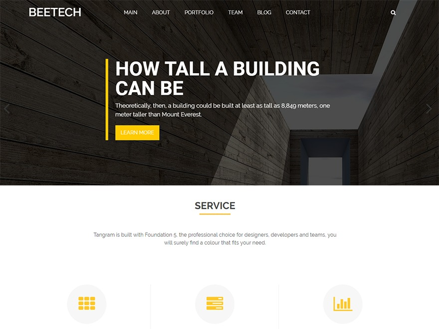 beetech theme WordPress free