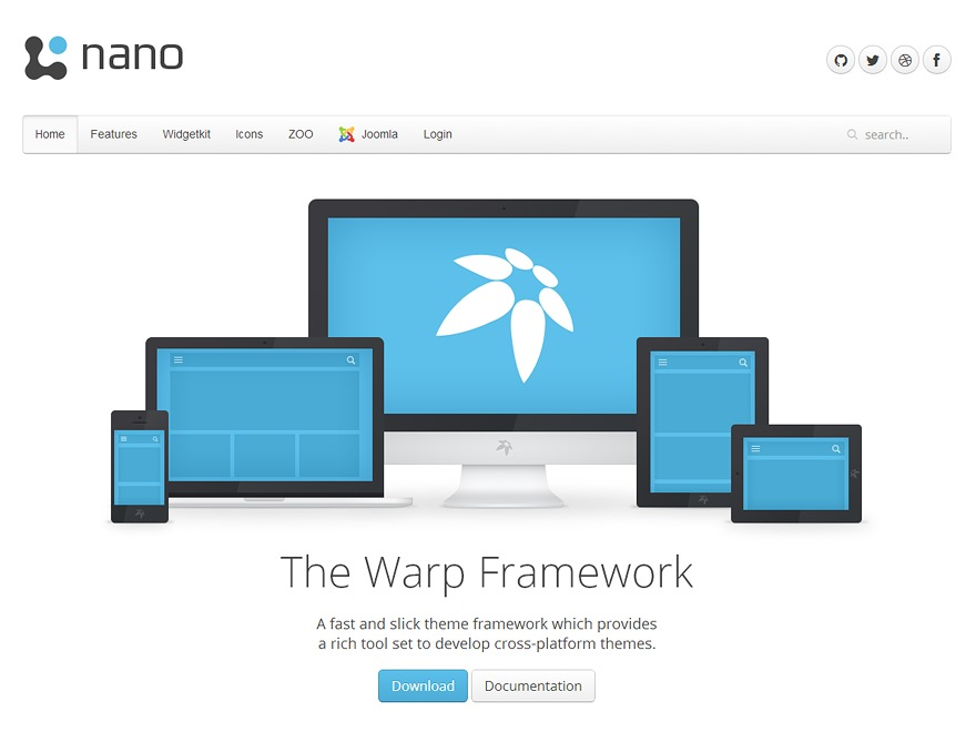 Best WordPress template Nano3
