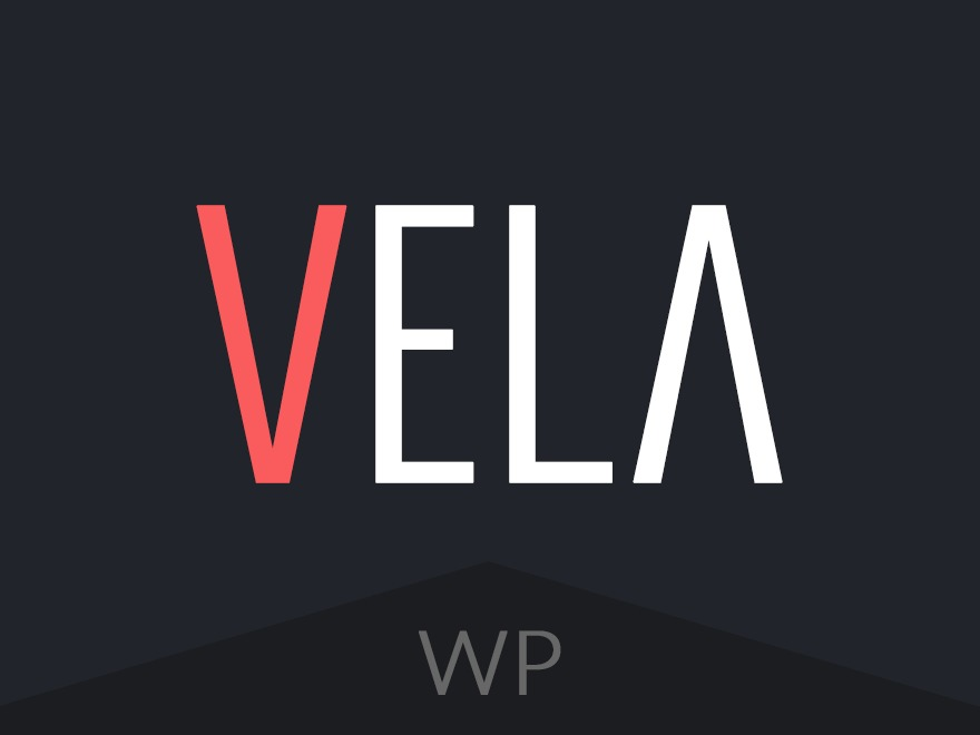 Best WordPress template Vela