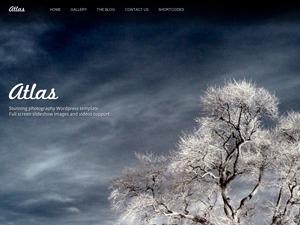 Best WordPress theme ATLAS