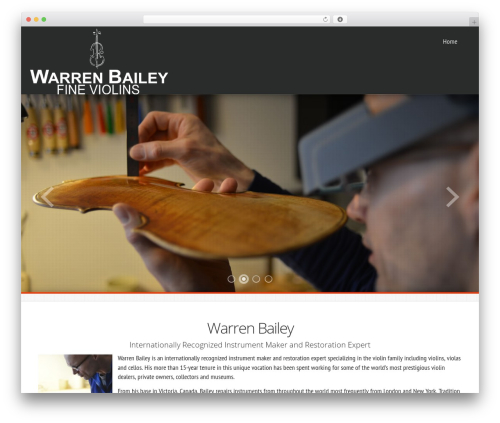 Best WordPress theme Avante FD - warrenbaileyfineviolins.com