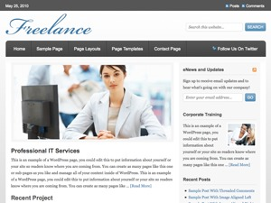 Best WordPress theme Freelance Child Theme