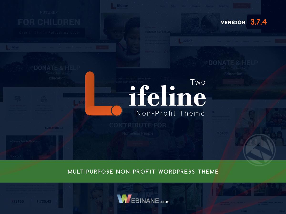 Best WordPress theme Lifeline2