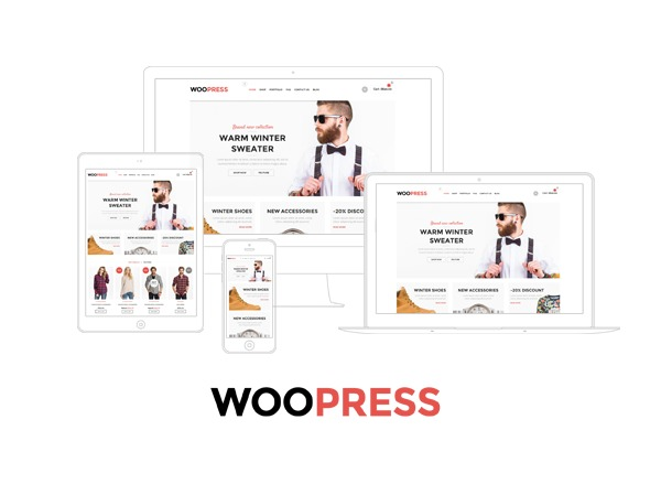 Best WordPress theme WooPress - 8theme WordPress theme