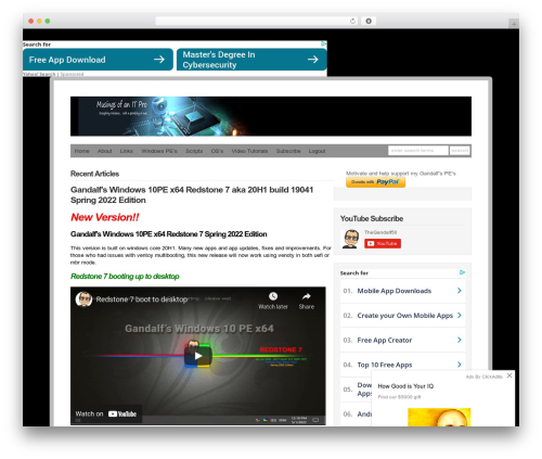 Best WordPress theme WP-DaVinci - windowsmatters.com