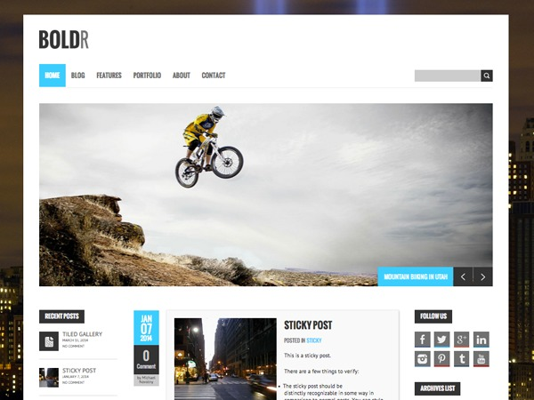 BoldR Pro 1.6.0 best WordPress magazine theme