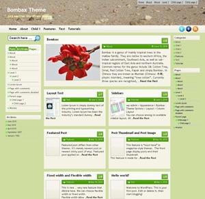 Bombax WordPress magazine theme