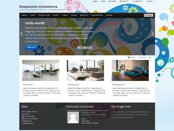 Boot Store WordPress ecommerce theme