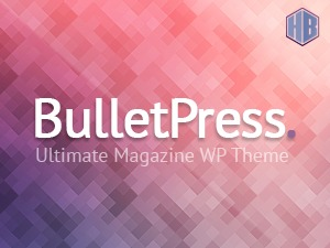 BulletPress WordPress magazine theme