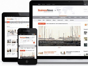 Business News best WordPress magazine theme