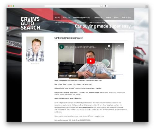 Cars Dealer WordPress theme design - wholesalevehicles.com.au