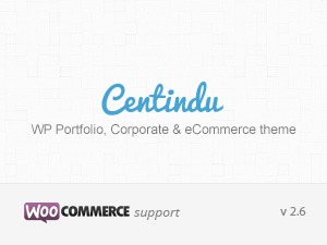 Centindu Portfolio, Business & eCommerce best WooCommerce theme