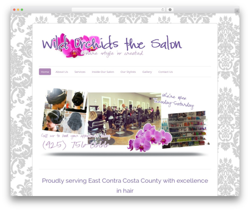 ColorWay free website theme - wildorchidsthesalon.com