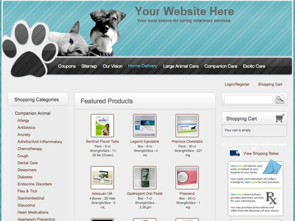 Companion Paws WordPress theme