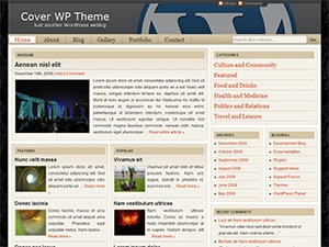 Cover WP best WordPress magazine theme