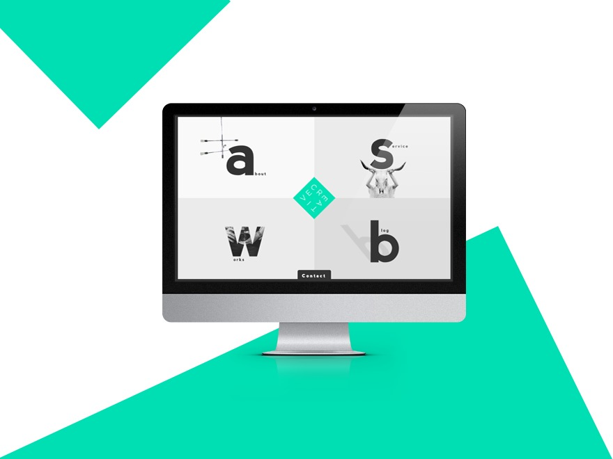 Creative personal WordPress theme