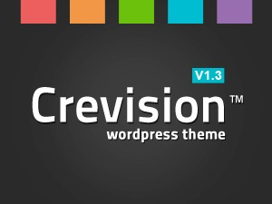 Crevision WordPress template