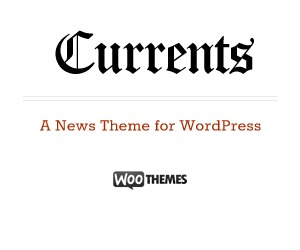 Currents template WordPress