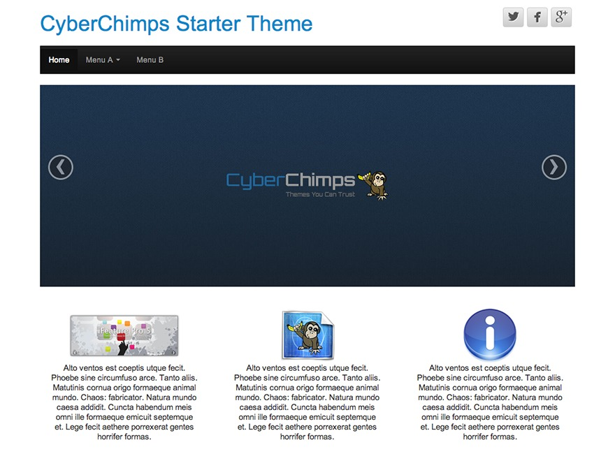 CyberChimps WordPress theme free download