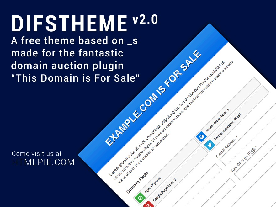 DIFSTHEME WordPress theme