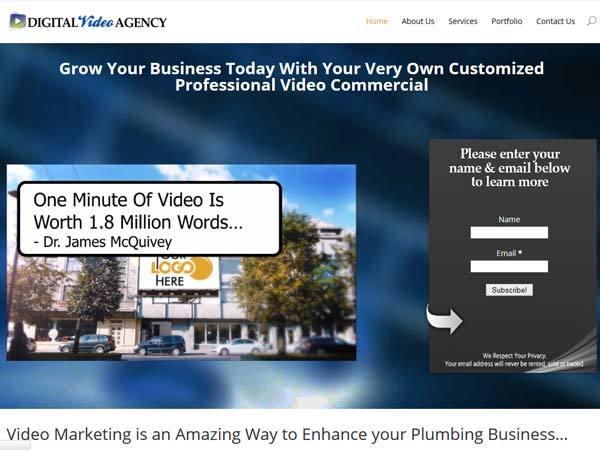 Digital Video Agency best WordPress video theme