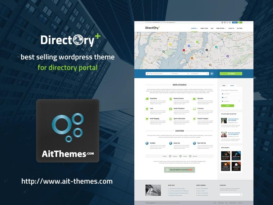 Directory Plus WordPress theme