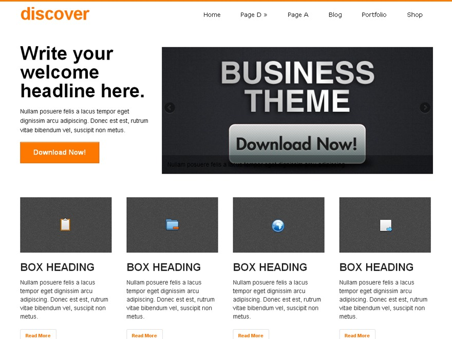 discover best free WordPress theme