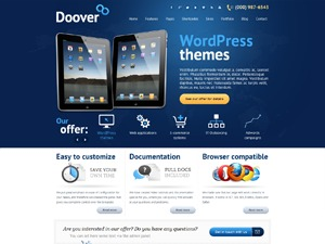 Doover WordPress theme