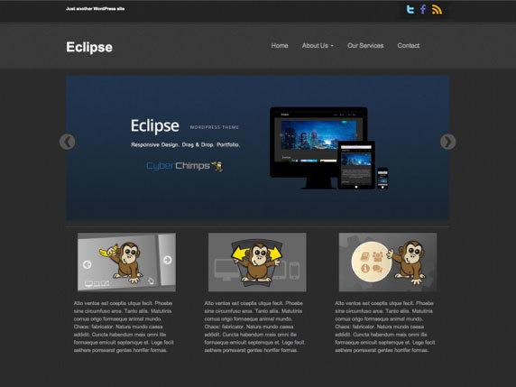 Eclipse best portfolio WordPress theme