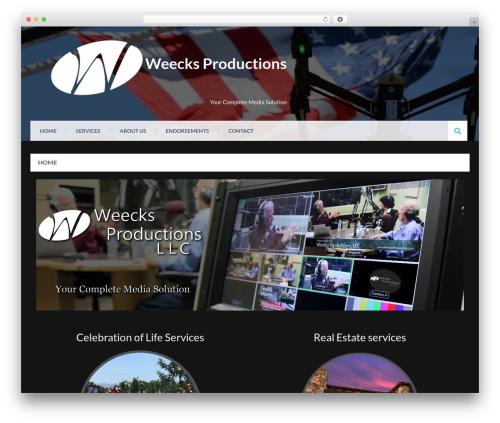 Eezy Store theme WordPress free - weecksproductions.com
