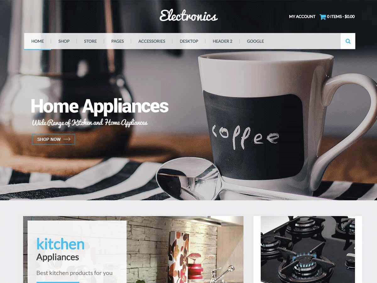 Eezy Store WordPress store theme