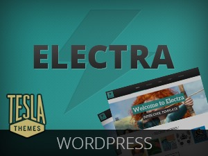Electra company WordPress theme