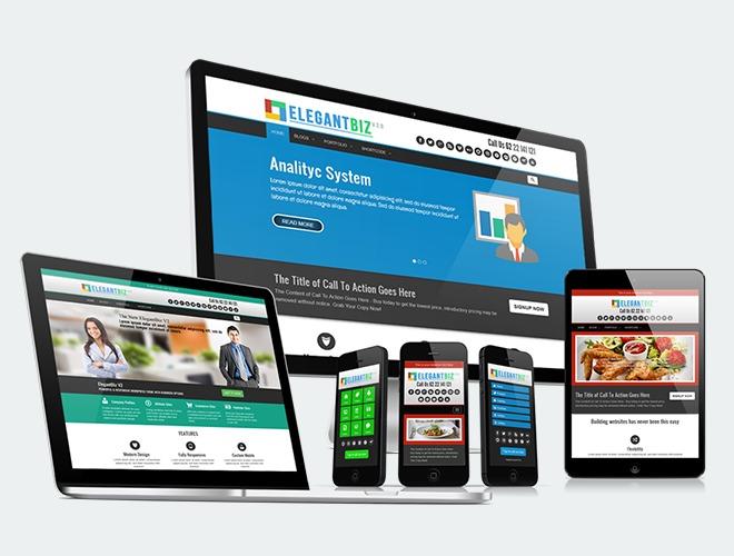 Elegantbiz2 template WordPress