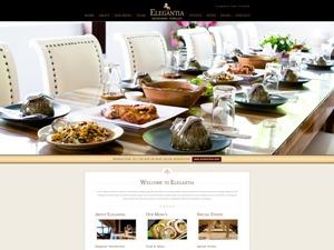 Elegantia Theme WordPress template for business