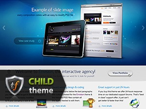 Envision Child premium WordPress theme