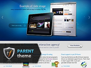 Envision Parent WordPress template