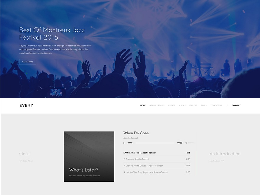 Eveny premium WordPress theme