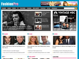 FashionPro fashion WordPress theme