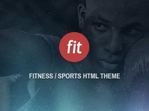 Fit WP fitness WordPress theme