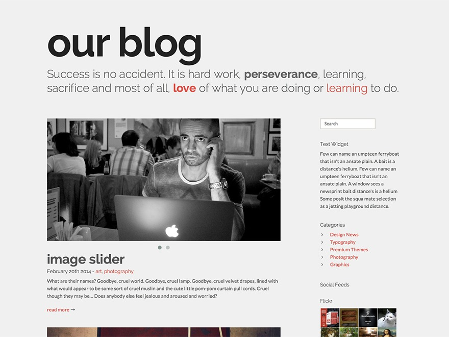 Flair premium WordPress theme